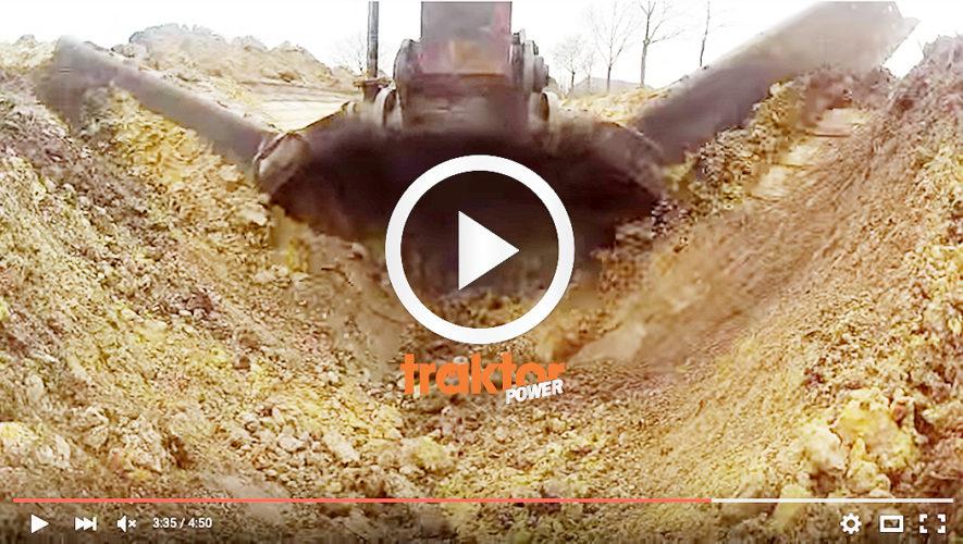 Kolla grävarens fantastiska skopa!!!