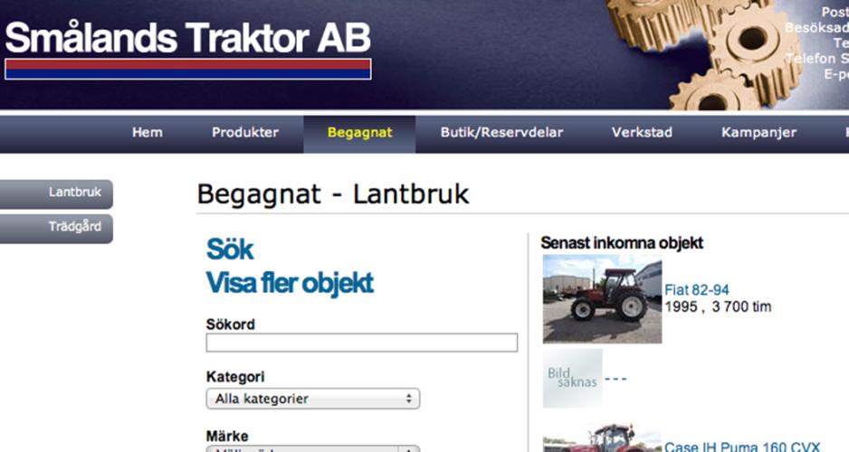 Smålands Traktor öppnar i Frödinge