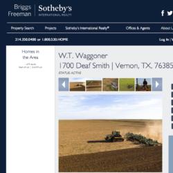 SVÄNGRUM. USA-s största sammanhängande ranch W.T. Waggoner Estate Ranch i Texas är till salu.