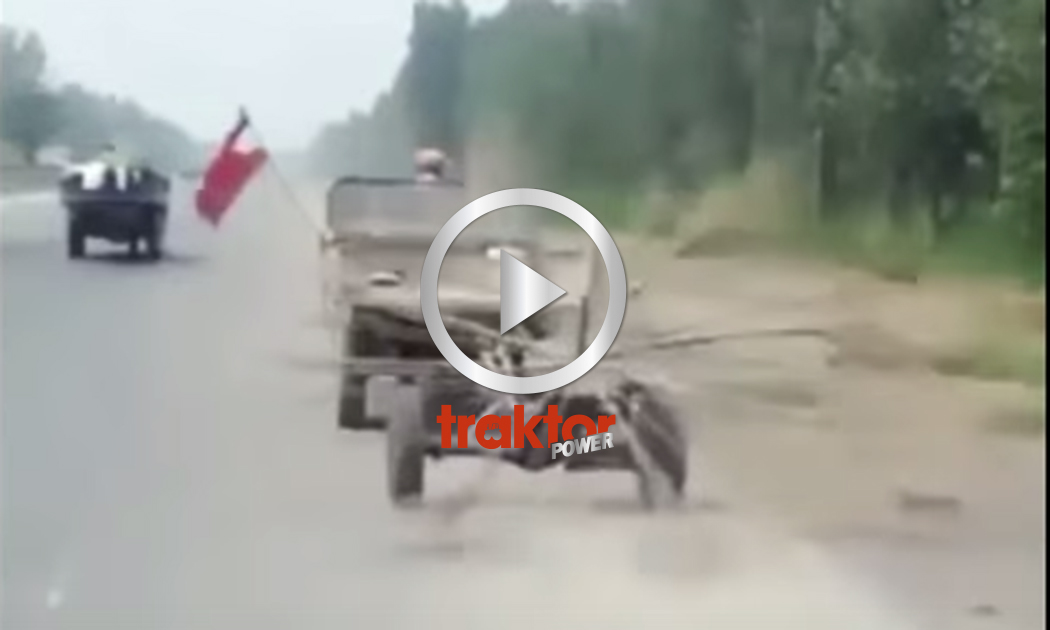 Stränläggare på motorväg!!!