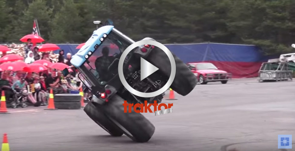 Här får du tips på hur du kör på två hjul med traktorn! KOLLA!