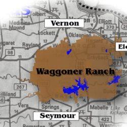 Waggoner ranch i Texas.