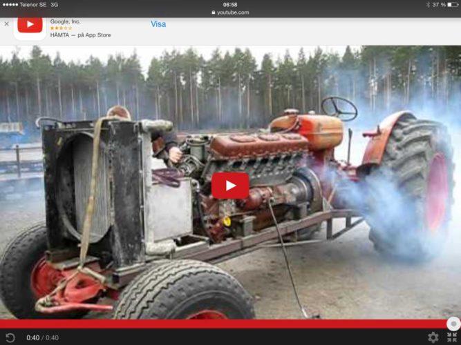 V12a i BM-traktor!