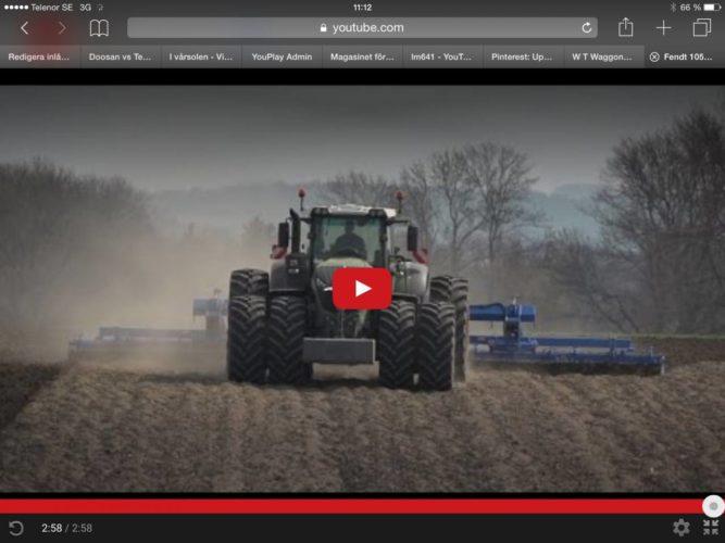 Fendts nya 1000-serie i tung jordbearbetning!