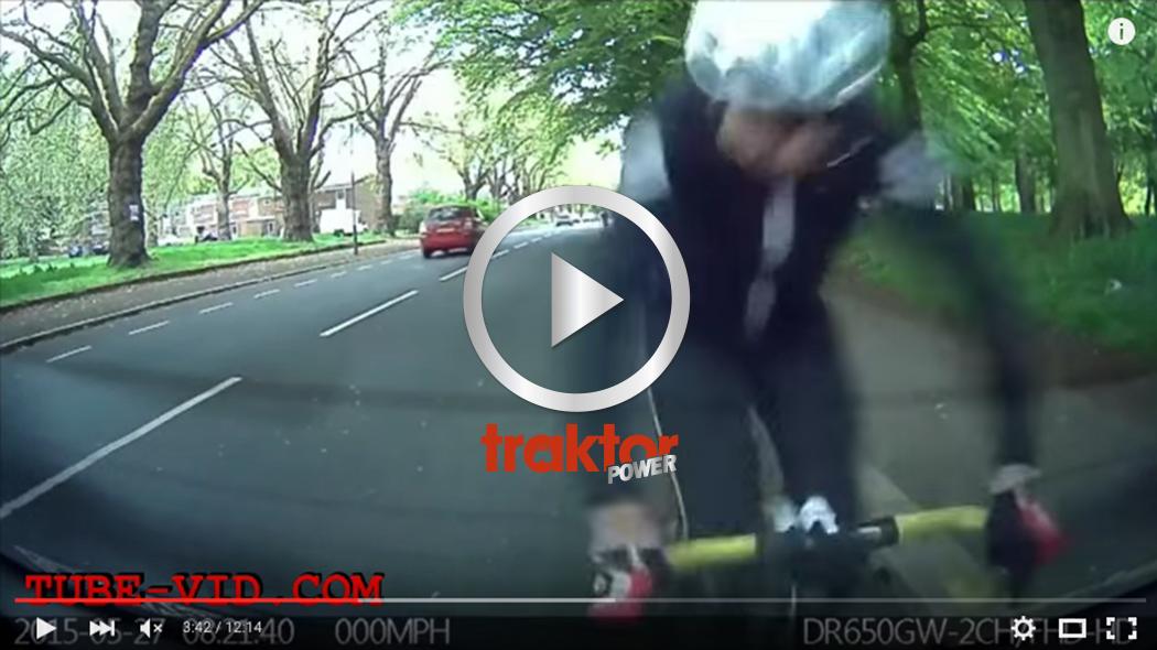 Cykel krockar med din bil!