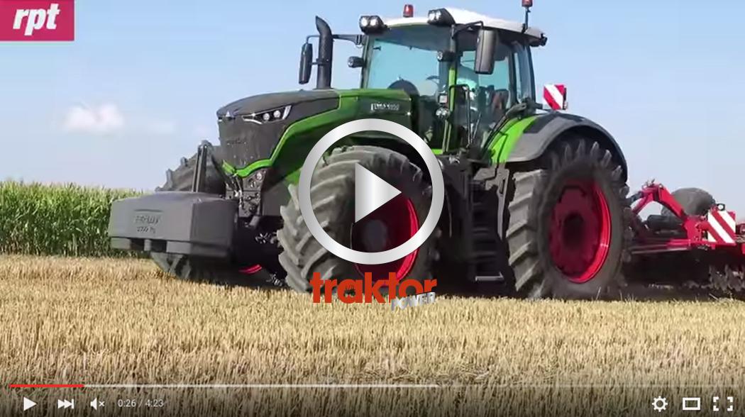 Fendt 1000-serie är Årets traktor 2016!!!