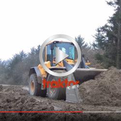 Volvo L110F:an i kamp med leran!