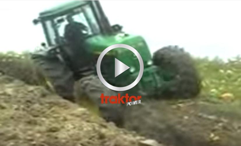 Hur djup tror du att John Deere-traktorn plöjer?