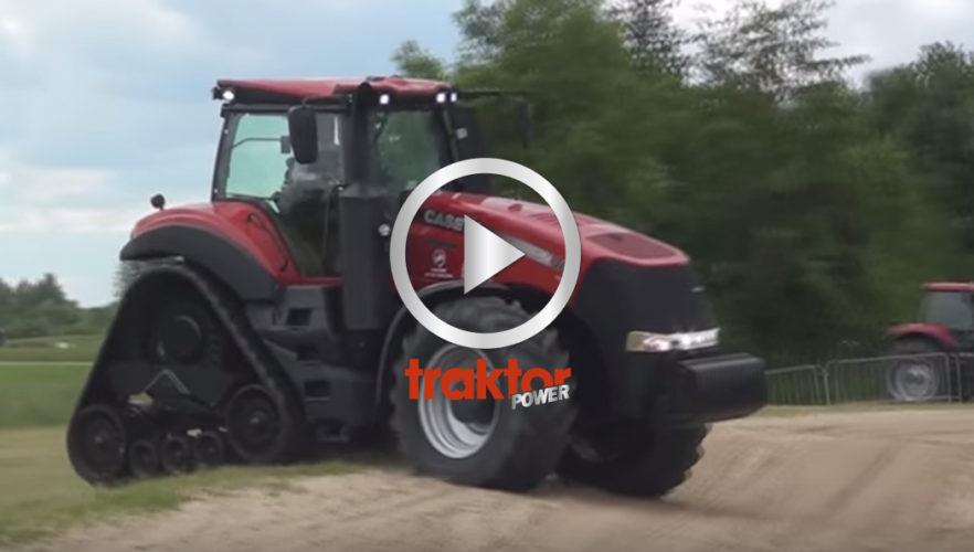 Gummibandaren Case IH 380 Rowtrac. Se den på Agritechnica!!!