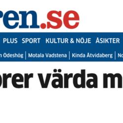 Miljonstöld även i Östergötland!