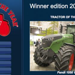 THE WINNER!!! Fendt 1050 Vario tog hem Tractor of the Year 2016 – Årets traktor 2016. Vinnare i tävlingen utsågs igår på lantbruksmässan Agritechnicas – i Hannover, Tyskland – första dag.