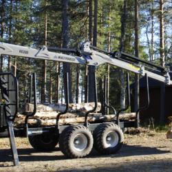 Proffsserie skogskranar från Trejon