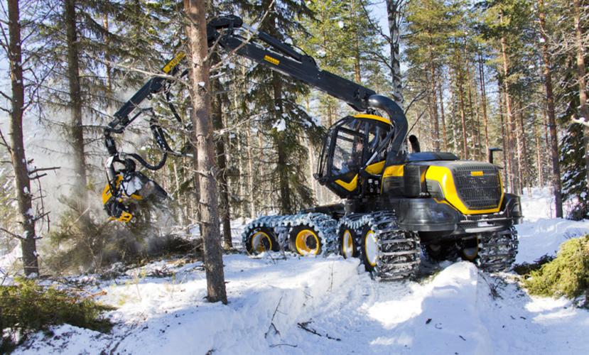 FINSK VINST IGEN. I hård konkurrens tog finska Ponsses skördare hem Swedish Steel Prize 2015.
