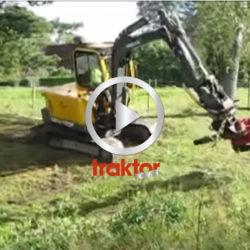 Slaghack på 5 tons grävare!