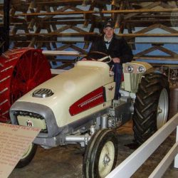 IH-traktor med turbinmotor.