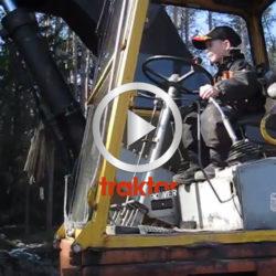 SÅ flyttar Morgan stenar med grävaren!