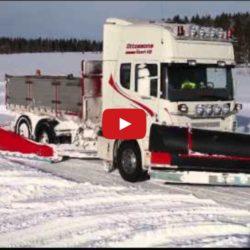 Test av Mählers snöutrustning!