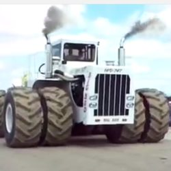 Världens största traktor!