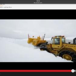 Hur många meter snö är det här?