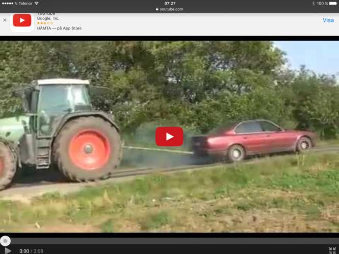 Dragkamp mellan Fendt och BMW!!!