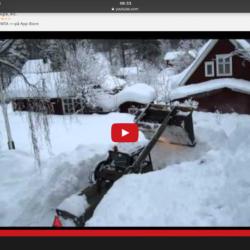 BM 218 i snösvängen!