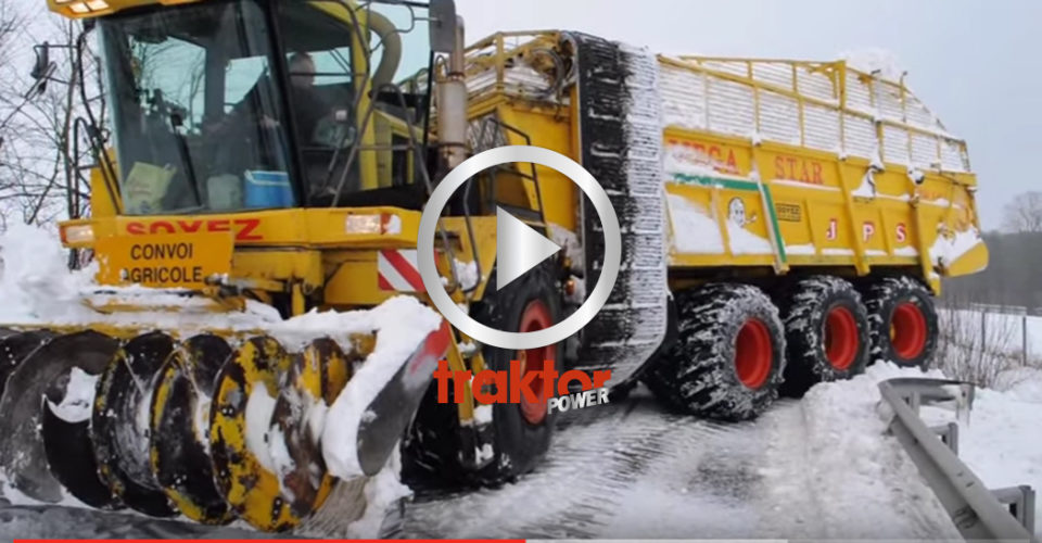 KOLLA den hä'r maskinen matar i sig snön!!!