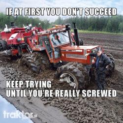 Traktor Powers julkalender! Dag 1!