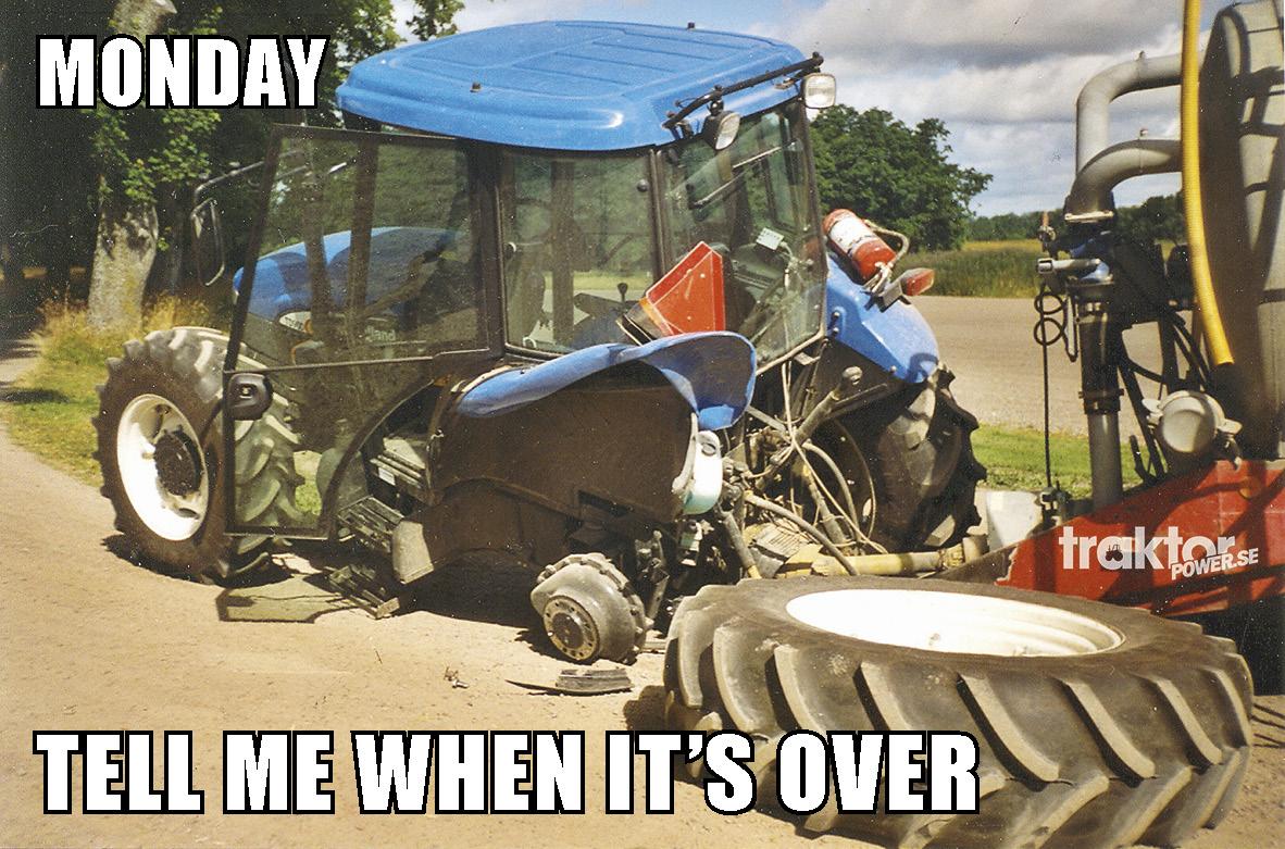 Måndag i Traktor Powers julkalender!