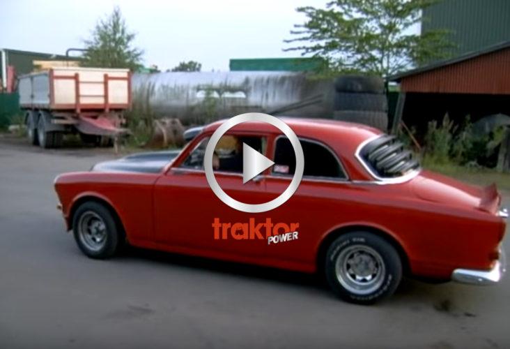 En Volvo Amazone driftar maximalt!!!