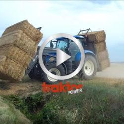 Så här får du med dig massor av stora fyrkantsbalar på traktorn!