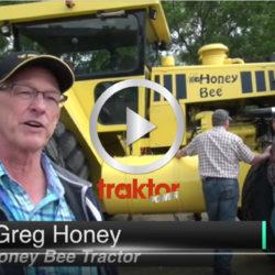 Honey Bee är världens största tvåhjulsdrivna traktor!