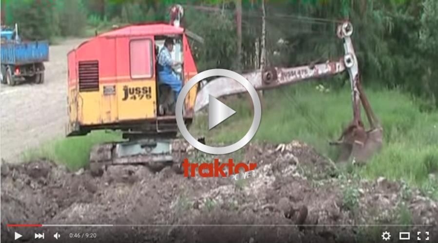 Legenden Jussi gräver igen! Det är en vajergrävare!!!