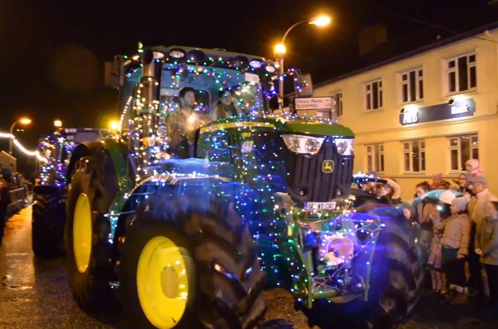 Världens juligaste traktorparad