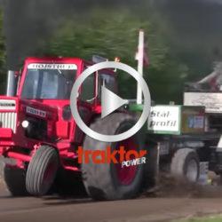 Traktorpulling med turbo-Volvo!