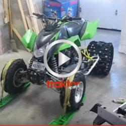 Så får du din fyrhjuling att gå bättre i snö!!!