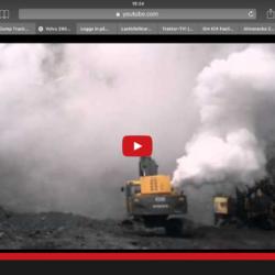 Turbohaveri på Volvo-grävare!