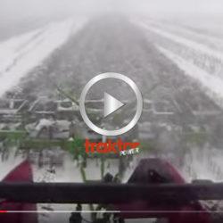 SÅ ser det ut när du stubbearbetar i snö!