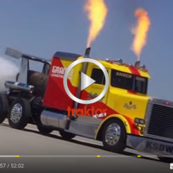 Världens snabbaste lastbil!