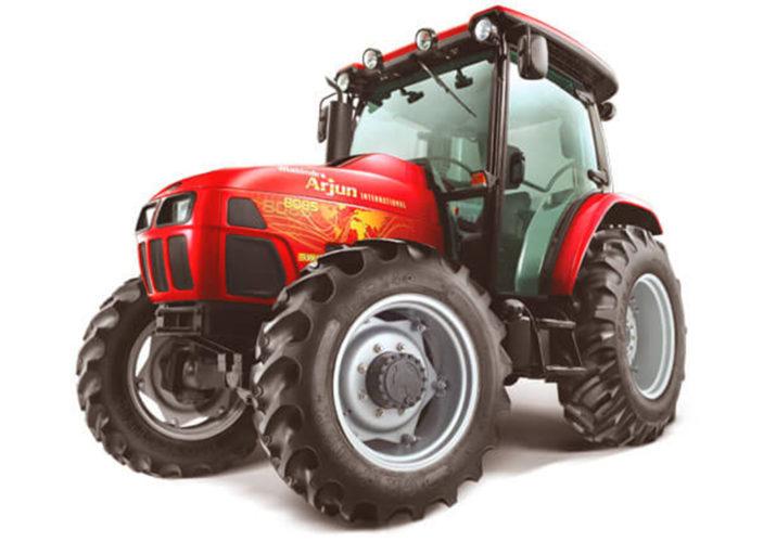 GÅR SOM TÅGET. I alla fall i Indien. Hela 20 819 Mahindra-traktorer såldes på den inhemska indiska marknaden under november i år.