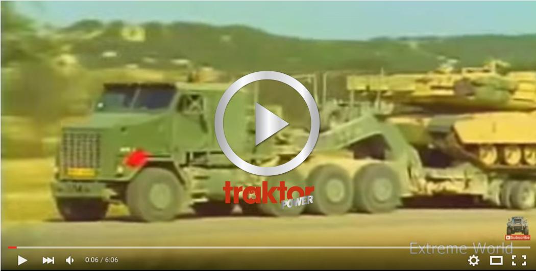 Monstret flyttar stridsvagnen med blixtens fart! M1070 är namnet!