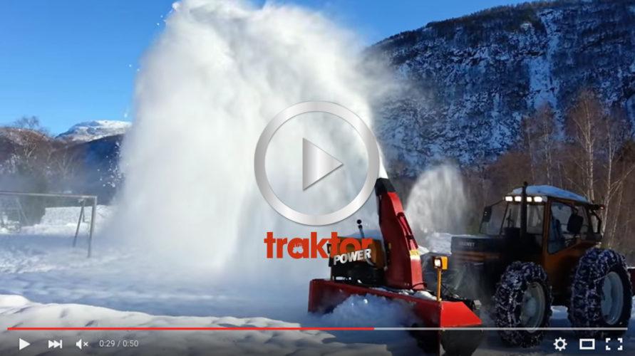 Här kan du se hur den hembyggda snöslungan funkar!!!
