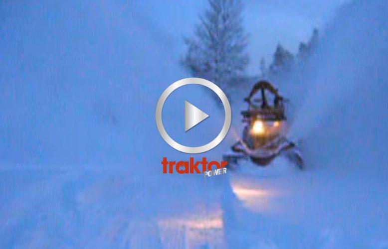 BM Volvo 350 Boxer med snöslunga!