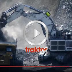 Jätten Liebherr R9800 jobbar i Burton Cool Mine!