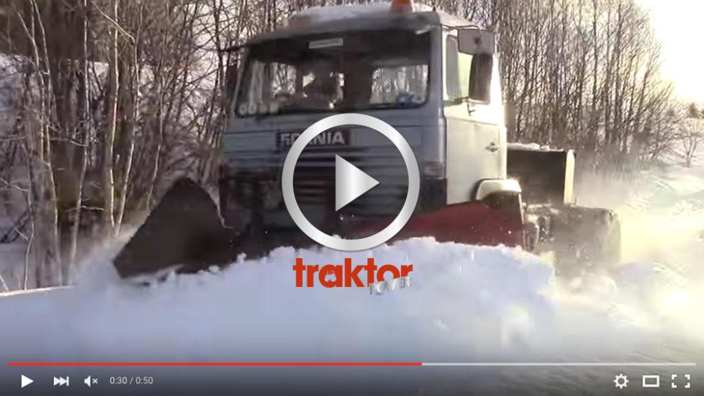 Scania 81:a med spetsplog!