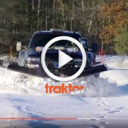 Se vilka snödriver pickuppen klarar!