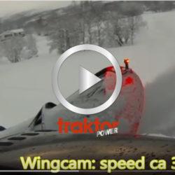 Snöröj med Valtra och Saltvikplogens diagonalplog DA-280!