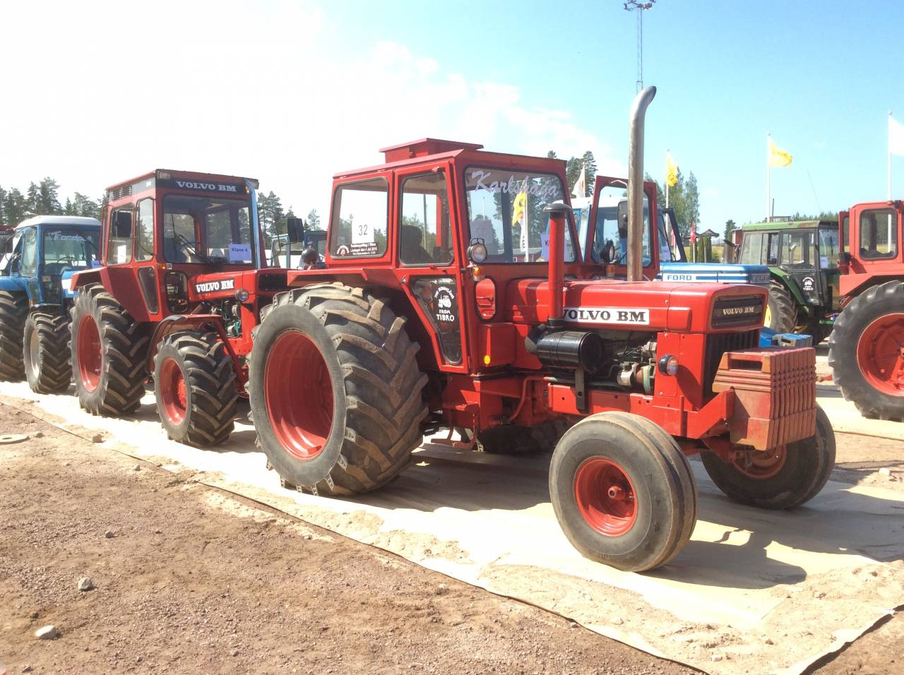 Traktorpulling på SVT!