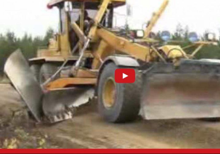 Renovering av grusväg!