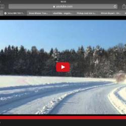 Volvo BM 700 med stor snöslunga!