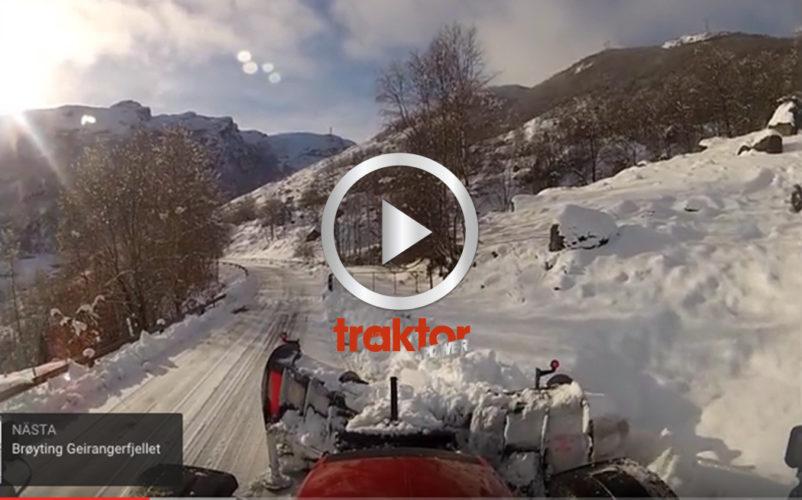 Häng med till Norge och röj snö!